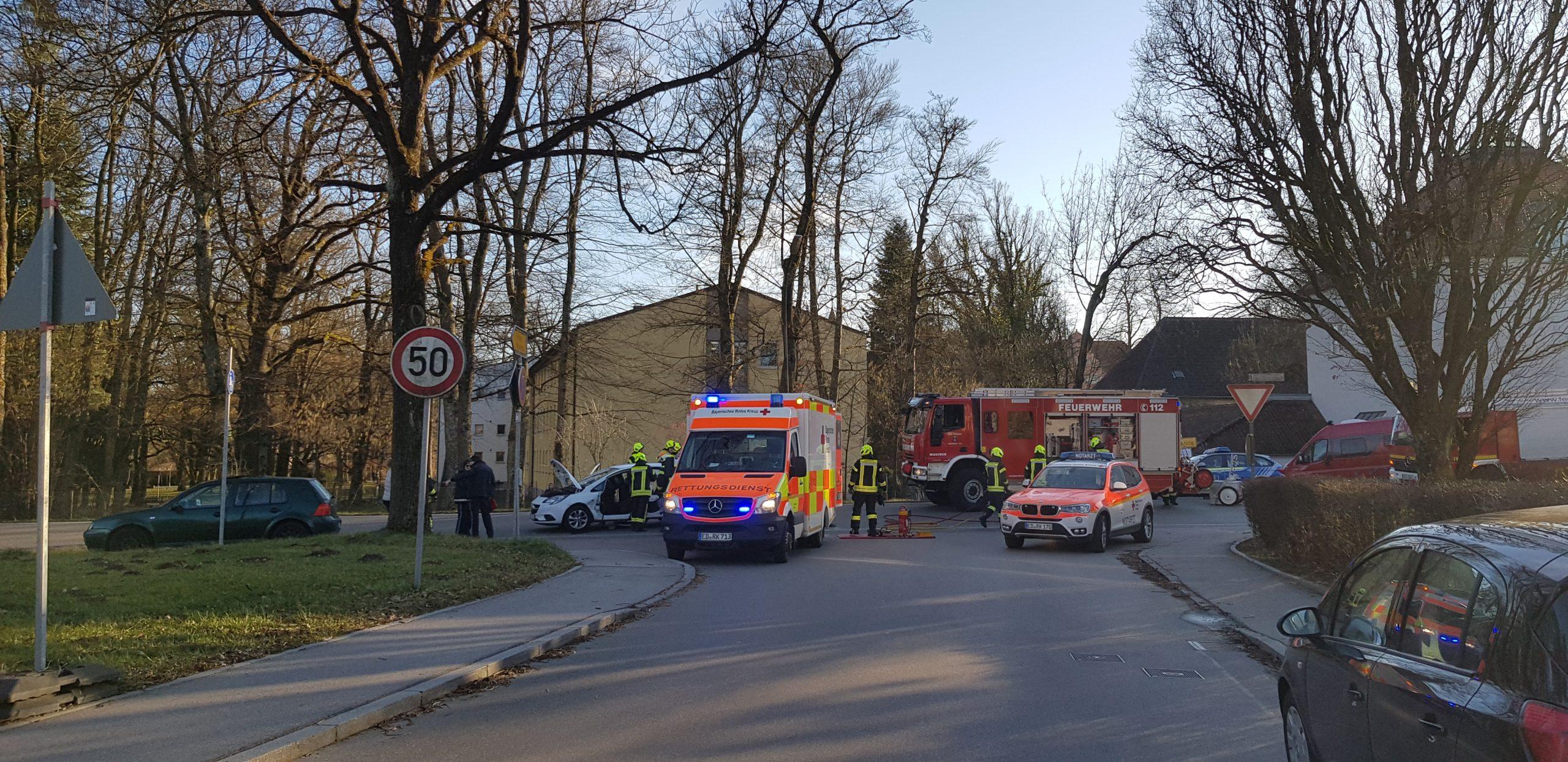 Verkehrsunfall Veldenerstraße