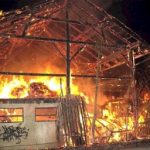 Brand eines landwirtschaftlichen Anwesens