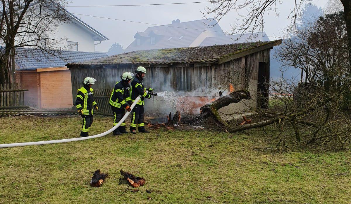 Pferdehofbrand in Wartenberg