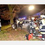 Unfall bei Gebensbach