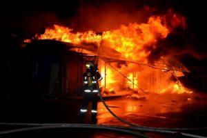 Richtiges Verhalten bei einem Brand