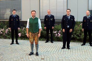 Mai 20: Antrittsbesuch bei Bürgermeister Stefan Haberl