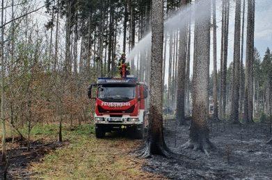 April 2020: Waldbrand Baierbach 1