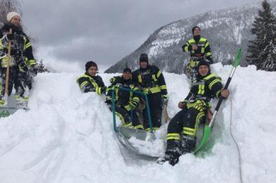 Januar 2019: Katastrophenschutzeinsatz Königssee 1