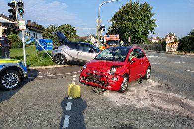 August 2020: Verkehrsunfall Erdinger Straße
