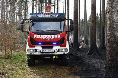 April 2020: Waldbrand Baierbach 2