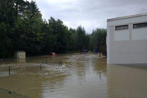 """Hochwasser durch Tief """"Nick"""""""