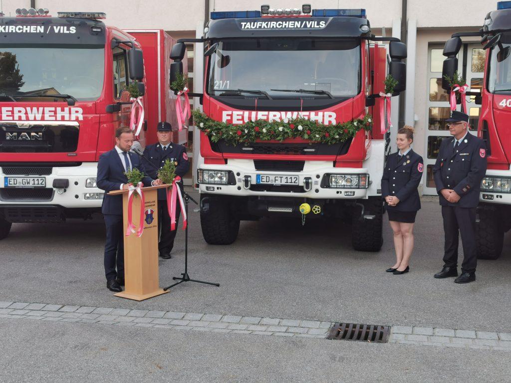 Bürgermeister Stefan Haberl dankte für das Engagement und bestätigte: Jeder Cent ist gut investiert.